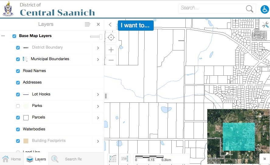 Maps of the Municipality | Central Saanich